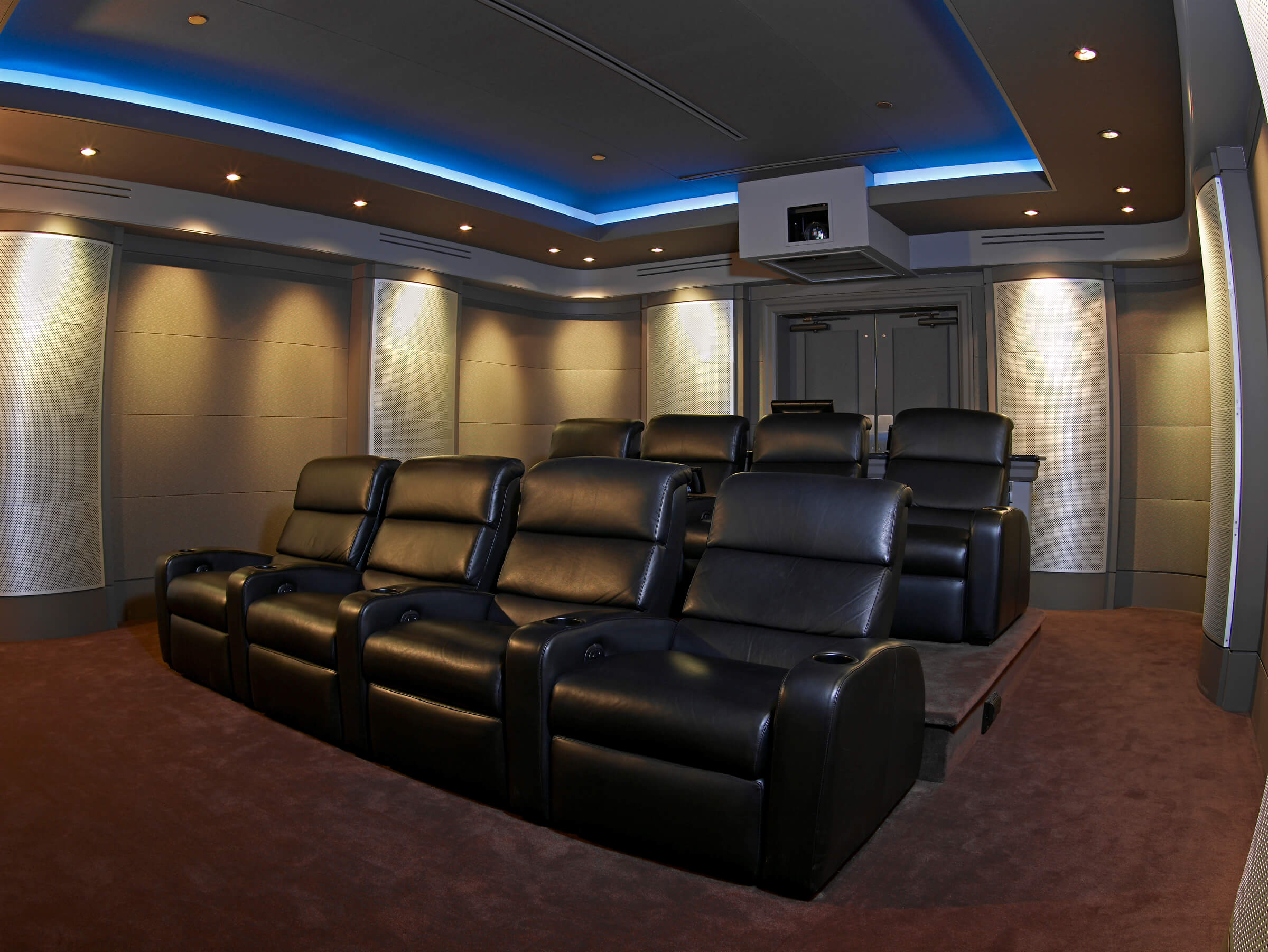 Theater and Media Rooms